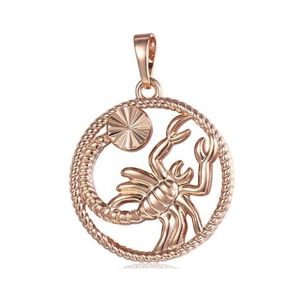 pendentif constellation scorpion