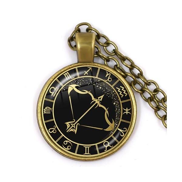 pendentif signe astro sagittaire