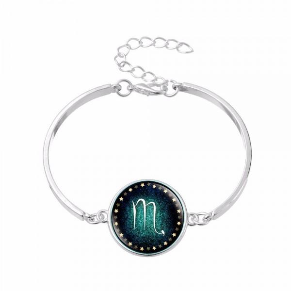 Bracelet Signe du Zodiaque scorpion