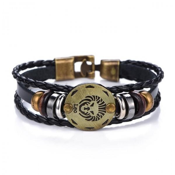 bracelet signe astrologique lion