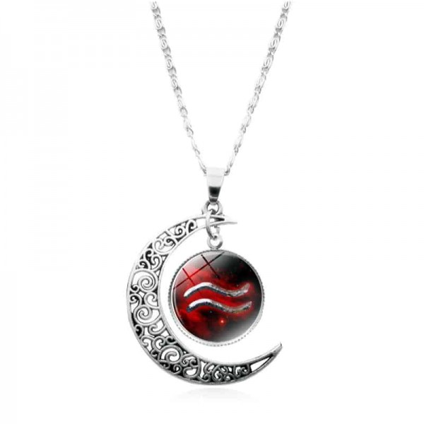 collier zodiaque verseau