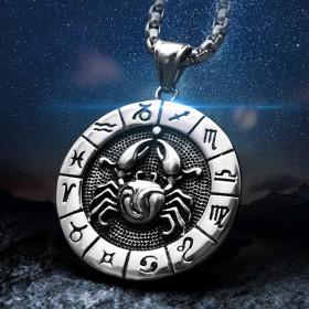 Collier astrologique homme