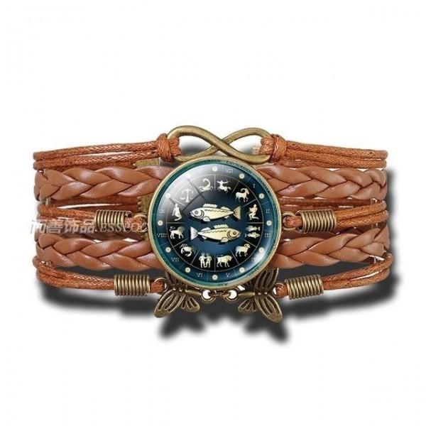 Bracelet Signe Zodiacal du Poissons