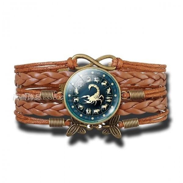 Bracelet Signe Zodiacal du Scorpion