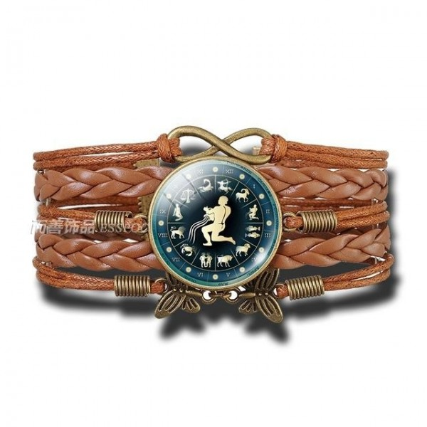Bracelet Signe Zodiacal du Verseau