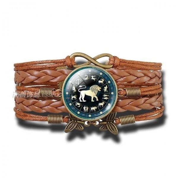 Bracelet Signe du Zodiaque Lion