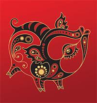 signe astrologique cochon