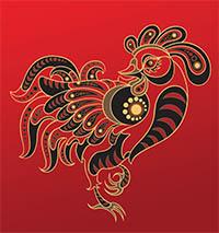 signe astrologique coq