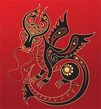 signe astrologique dragon