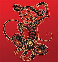 signe astrologique singe